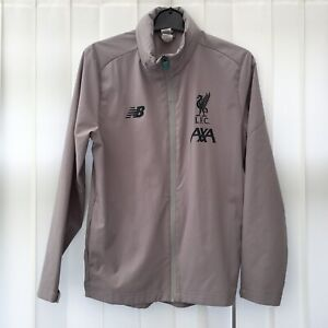Liverpool FC Football Training Hooded Jacket Kid's Size 10-11 Years 146cm, Grey