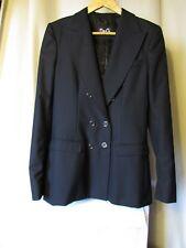 veste blazer dolce gabbana laine bleu marine taille 44