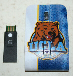 Keyscaper UCLA Bruins 110 wireless mouse Model #TM050G WORKS!