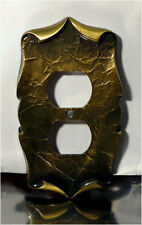 Vintage Amerock Carriage House Double Outlet Plate Cover, 9082-1