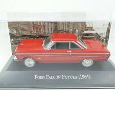 1/43FORD FALCON FUTURA 2 PUERTAS ROJO 1964 MEMORABLES MEXICO