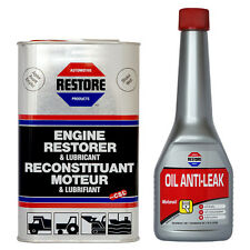 Engine Blow-by Cured In 8 Hrs - AMETECH Restore Engine Restorer & Oil Anti-leak