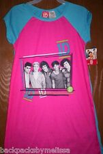 ONE DIRECTION 1D Fushia Nightgown PAJAMAS sz 6/6x NeW Pjs Harry Zayn Liam Louis
