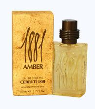 CERRUTI 1881 AMBER EAU DE TOILETTE 50ML SPRAY NUOVO BLISTERATO by NINO CERRUTI