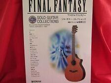 Final Fantasy series Guitar TAB 26 Sheet Music Collection Book w/CD