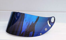 Aftermarket Blue Mirror Shark Visor Shield RSR RSR2 RSX RS2 + fixing rings