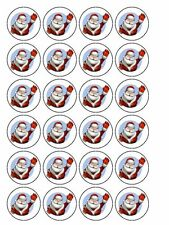 Christmas cake cupcake biscuit cookie edible Icing topper decoration D24