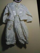 Petit Canard 9 month Baby Christening Tuxedo