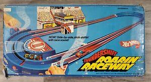 Vintage Mattel Hot Wheels Thundershift Roarin Raceway 1978 Racetrack Set 2363