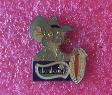 Pins Walt Disney CHAMBOURCY Film BERNARD et BIANCA Personnage JACK avec LASSO