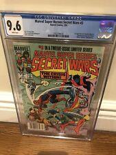 Marvel Super Heroes Secret Wars #3 Cgc 9.6 W/P 1st Appearance Titania