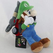 Super Mario Bros. Luigi`s Mansion 2 Luigi Stuffed Animal Plush Soft Toy Gifts