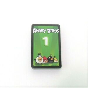 2011 Angry Birds Knock on Wood Game Replacement Parts-Complete Set Mission Cards