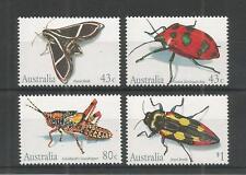 Australia 1991 insetti SG, 1287-1290 U/mm NH LOTTO 2784a