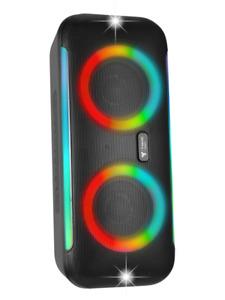 Bluetooth LED Lautsprecher Musik Box Party Boom Speaker Wasserfest LED-Effekte