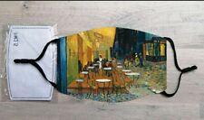 Café Terrace at Night face mask (Vincent Van Gogh)