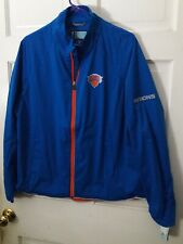 New York Knickerbockers Knicks basketball Jacket NBA athletic apparel Women's 2X