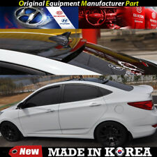 OEM Roof Glass Wing Lip Spoiler - Phantom Black for 2011-2017 Hyundai Accent