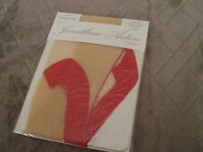 Red Seam S//M M//L 2 Pair Black Tights With Contrast Red Seam And Black Heel