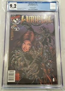 Witchblade #10 $1.95 Newsstand Edition CGC 9.2 1st App Darkness Only 1 in Census