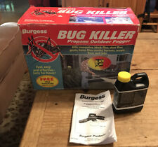 BURGESS 1443 BUG KILLER Propane Outdoor Mosquito Insect Fogger Brand New In Box