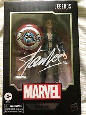 Stan Lee Excelsior Marvel Legends Series 6? w/ Captain America Shield - IN STOCK