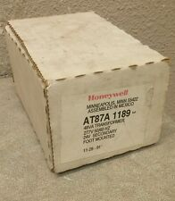 HONEYWELL  AT87A 1189  277V - 24V  .48 VA CONTROL TRANSFORMER NEW IN BOX