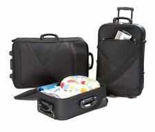 Koffer Set 3 Teilig Reisekoffer Trolley Stoffkoffer Kofferset Handgepäck Koffer