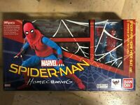 BANDAI S.H. FIGUARTS MARVEL SPIDER-MAN HOMECOMING HOME MADE SUIT VERSION ROTTO