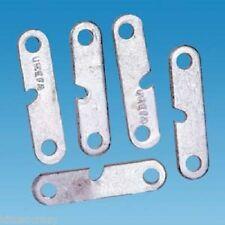 Confezione da 5 in alluminio piatto Guida Corda Corridori, Campeggio, Tenda, Tenda da sole, gazebo