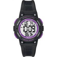 Timex Women's Marathon | Alarm Timer Day/Date Purple/Black Sport Watch TW5K84700