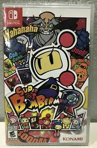 Super Bomberman R (Nintendo Switch) BRAND NEW SEALED