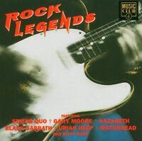 ROCK LEGENDS (STATUS QUO, MOTÖRHEAD, BLACK SABBATH, URIAH HEEP, ...)  CD NEU