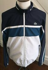 GENUINE MEN'S  LACOSTE  Sport Original Tracksuit Top Jacket size 6 /UK LARGE