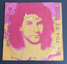 "BILLY SQUIER - Rock Me Tonite 7"" Vinyl Single Good 1984 Australian Pressing"