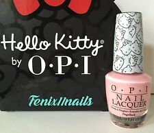 OPI HELLO KITTY NL H84 SMALL + CUTE = <3 nail lacquer baby pink polish color NEW