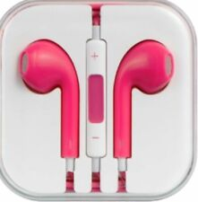 Pink  HEADSET Kopfhörer für iPhone 4 5 5s 5c 6 6s 6+ iPad Stereo Headset pink