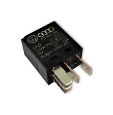 423-Audi VW 5-Pin Black Relay No (395) Multi-Use 8Z0951253 Tyco V23074-A1001-X50