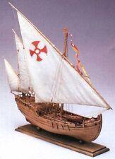 "Amati Nina 15"" Wooden Ship Model Kit Historic Series Columbus' Caravel 1492"