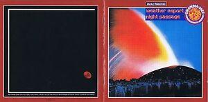 Weather Report - Night Passage CD Remastered