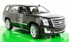 Nex Models 1/24 Scale - 2017 Cadillac Escalade Black Diecast model car