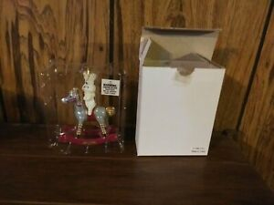 NIB 1999 Pillsbury Doughboy Rocking Horse Christmas Ornament