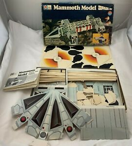 1976 Mammoth Model Space 1999 Never Assembled NOS FREE SHIPPING