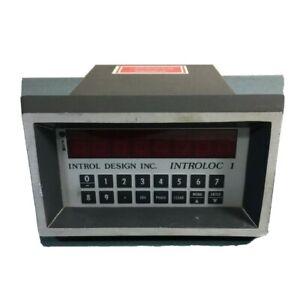 Introl Design Introloc 1 Model 601HD Digital Speed Control 601 #5B549