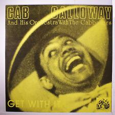CAB CALLOWAY: Get With It LP (UK) Jazz