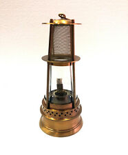"Antique 12"" Brass Oil Lamp Nautical Maritime Boat Ship Lantern Home Decor"