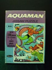 Vintage Aquaman 100 pc. jigsaw puzzle by Whitman dated 1968