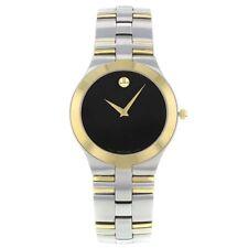 Movado vergoldete Armbanduhren für Herren