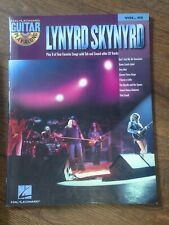 Lynyrd Skynyrd Guitar Play Along tab TABLATURE book + CD