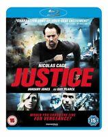Bluray Justice (Blu-ray, 2012) Nicolas Cage SUPERB THRILL RIDE-DTS HD AUDIO
